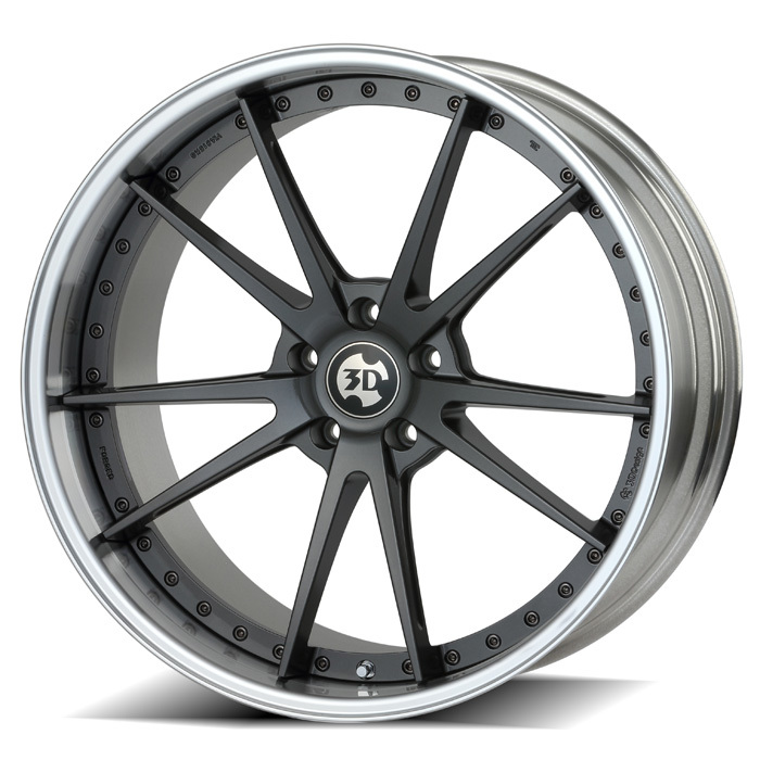3D Design Type 4 forged wheels