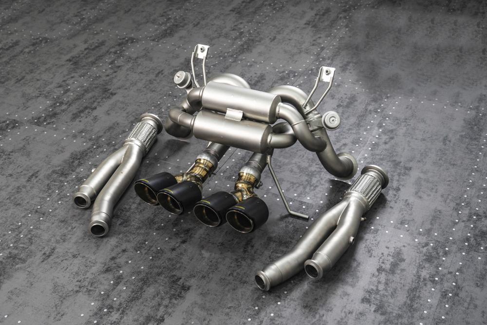 TNEER Exhaust Systems for Lamborghini AVENTADOR - LP720-4