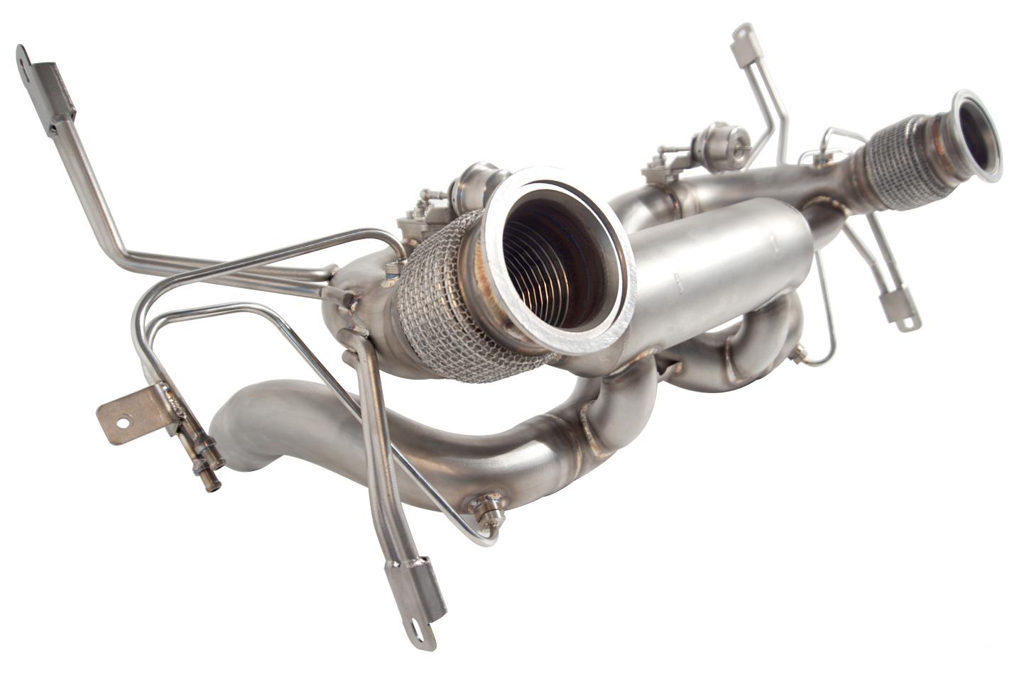 IPE exhaust system for Lamborghini Huracán EVO