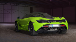 Capristo exhaust system for McLaren 720S