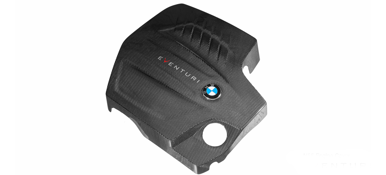 Eventuri Carbon fiber Engine Covers for BMW M2 N55