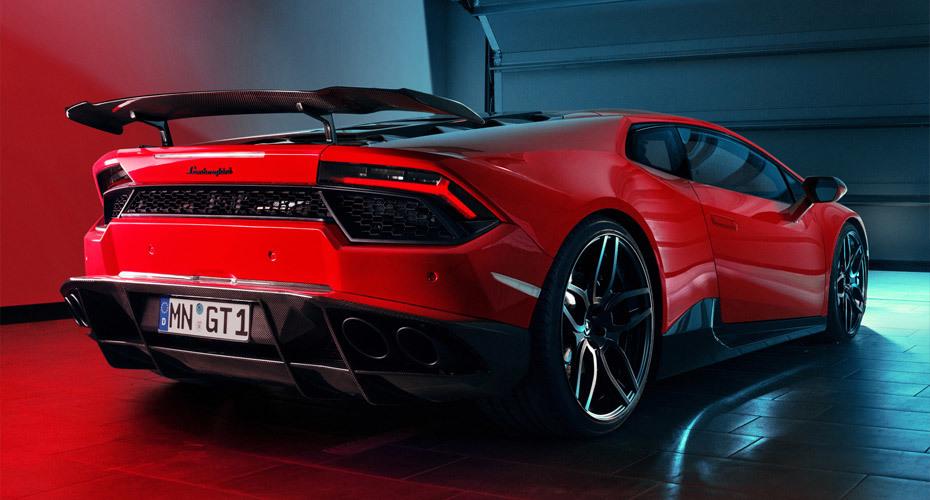 Novitec body kit for Lamborghini Huracan LP 570