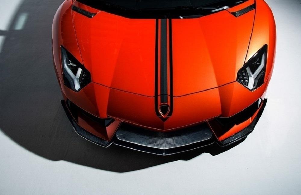 VORSTEINER STYLE CARBON  hood frame for Lamborghini Aventador new model
