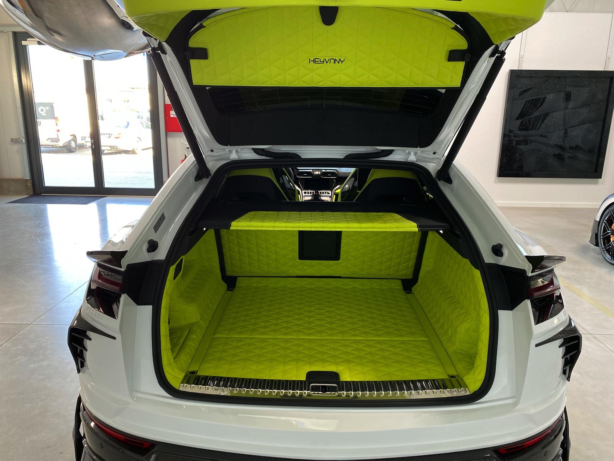 Keyvany body kit for Lamborghini Urus latest model