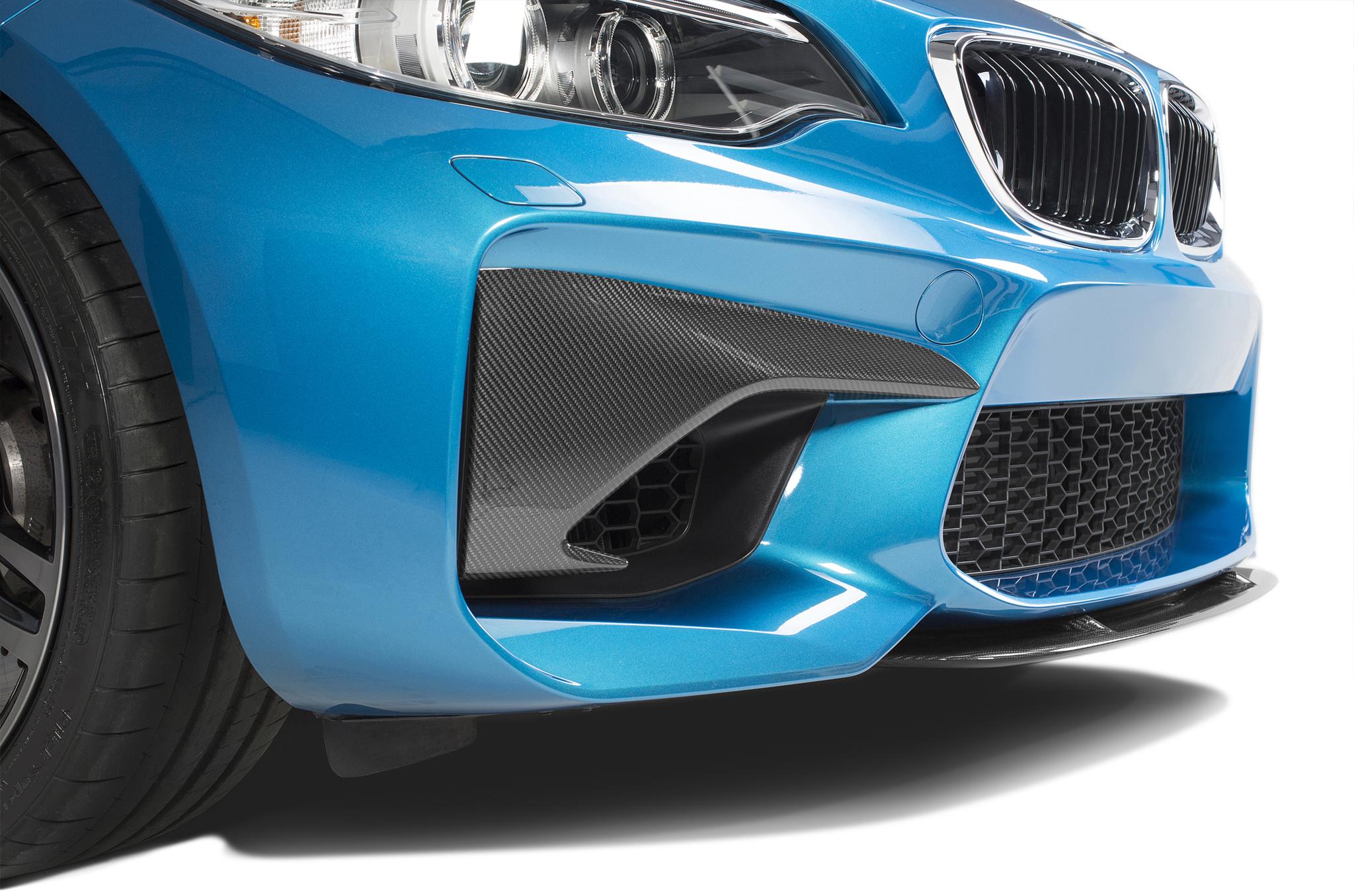 Sterckenn Carbon Fiber bumper inserts for BMW M2 F87 new model