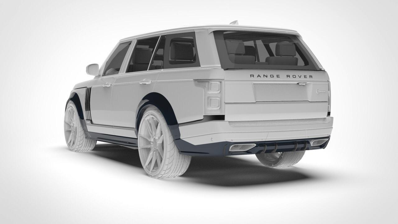 Renegade body kit for  RANGE ROVER VOGUE new style