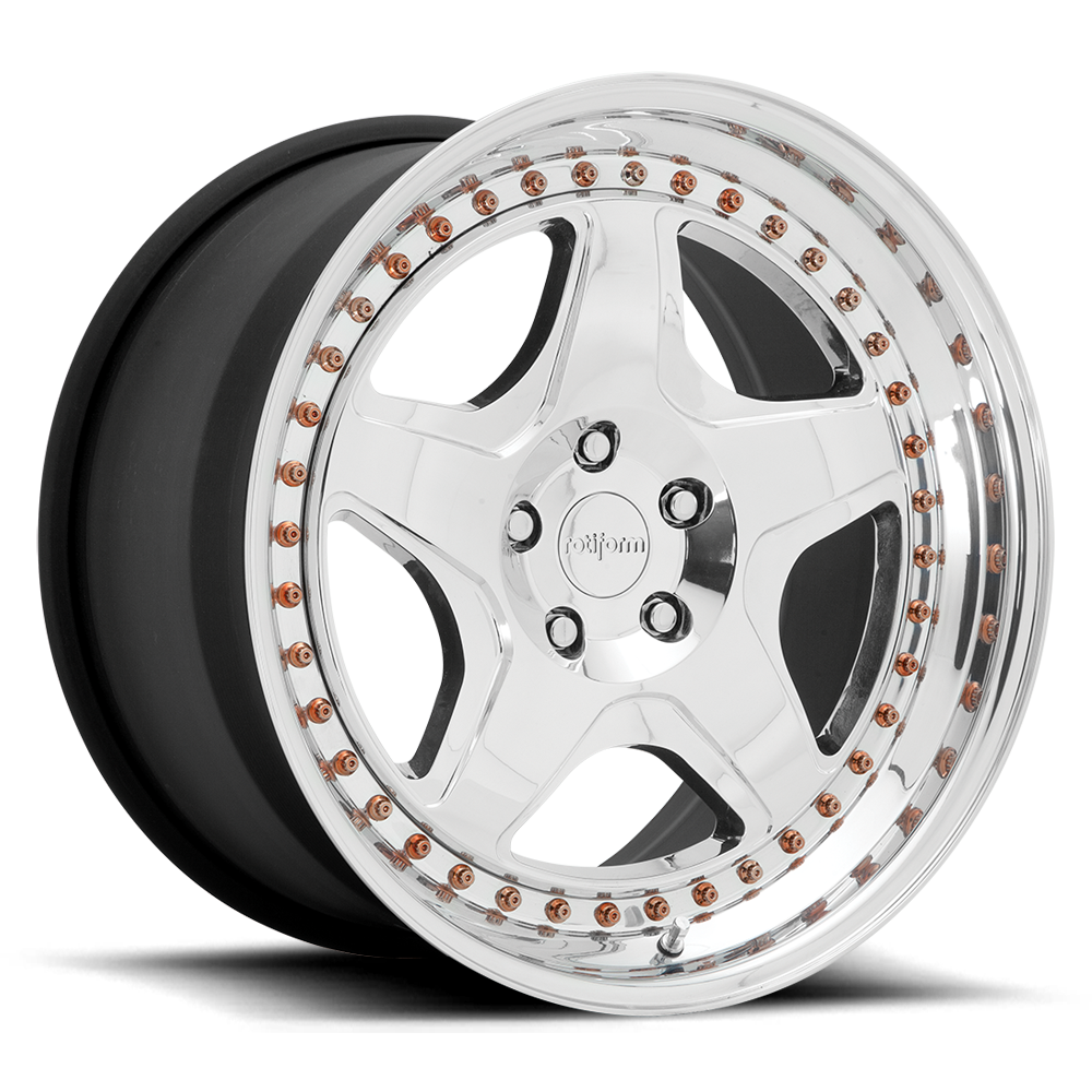 Rot iform WRO-T 3 piece forged wheels