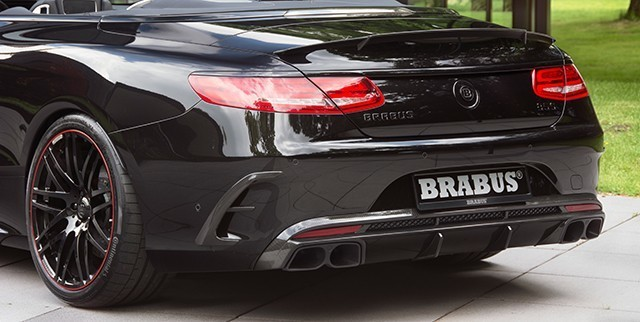 Brabus body kit for Mercedes S-class Coupe (C217) 63 AMG W222 latest model
