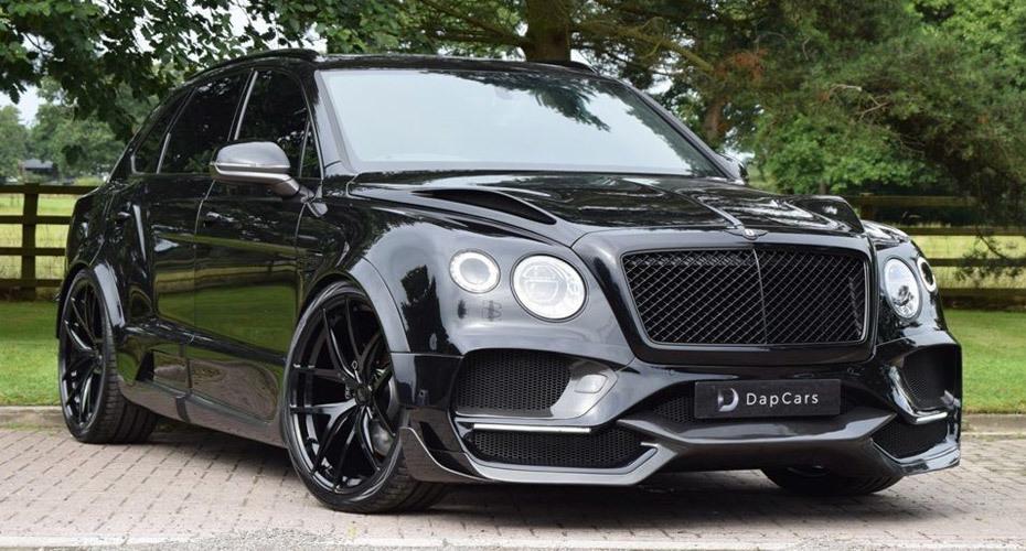 Onyx body kit for Bentley Bentayga