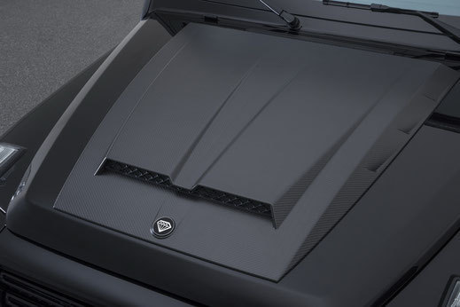 Hodoor Performance Carbon fiber bonnet for Mercedes G63 AMG W463A