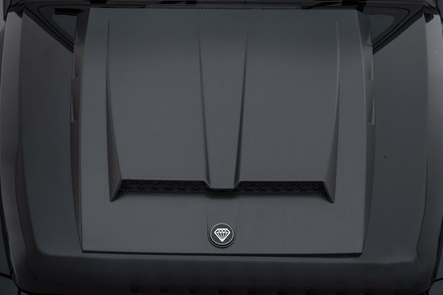 Hodoor Performance Carbon fiber bonnet for Mercedes G63 AMG W463A 2019 - 2020