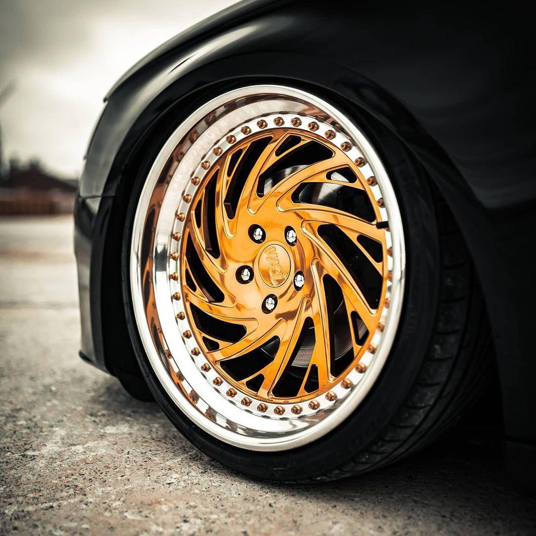 WATERCOOLED CB2 forged wheels