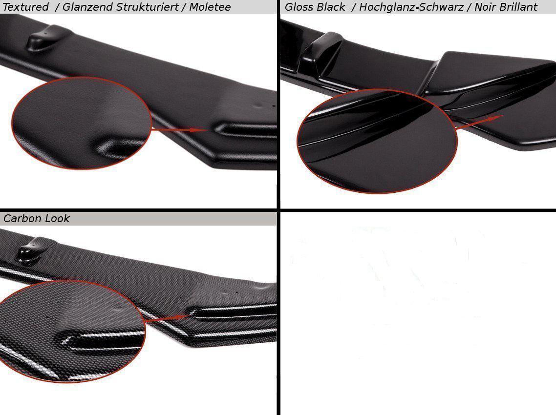 Maxton Design REAR VALANCE FOR AUDI S3 SEDAN 8V new model