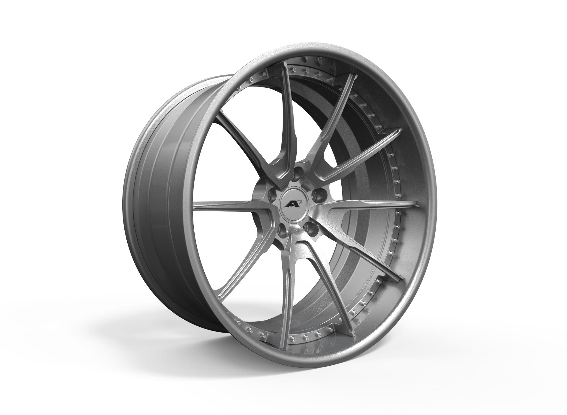 AMP Forged Wheels AMP 5S-3P FLAT LIP