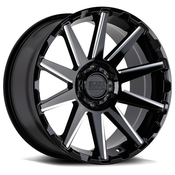 Black Rhino Typhoon light alloy wheels