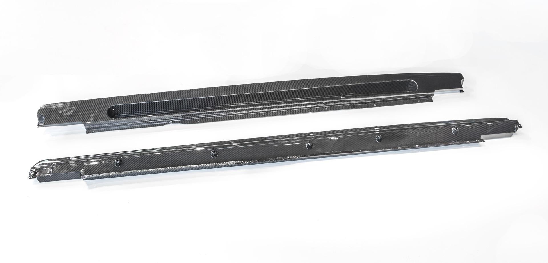 Hodoor Performance Carbon fiber sill pads for Bentley Bentayga Copy