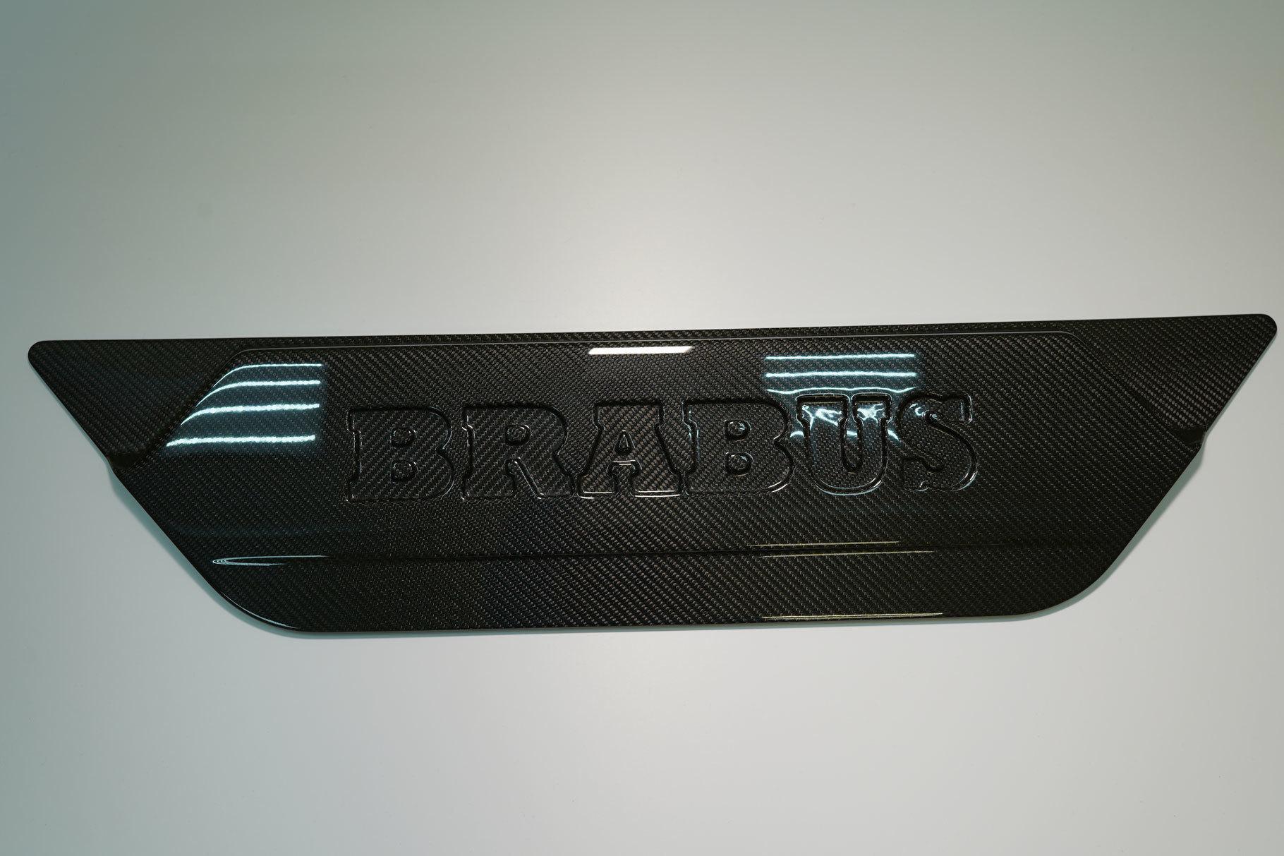 Hodoor Performance Carbon fiber Rear door cover Mercedes G-class W463A