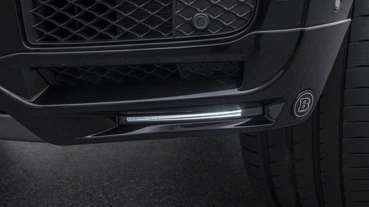 Hodoor Performance Carbon fiber Lip front bumper with LED for Mercedes G63 amg w464