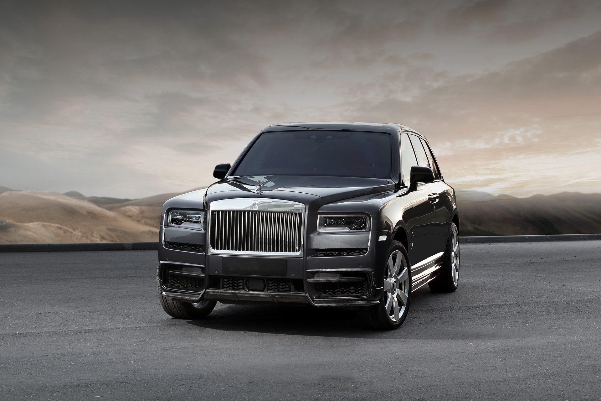 Hodoor Performance Carbon fiber Air Intake Splitter Cover for Rolls Royce