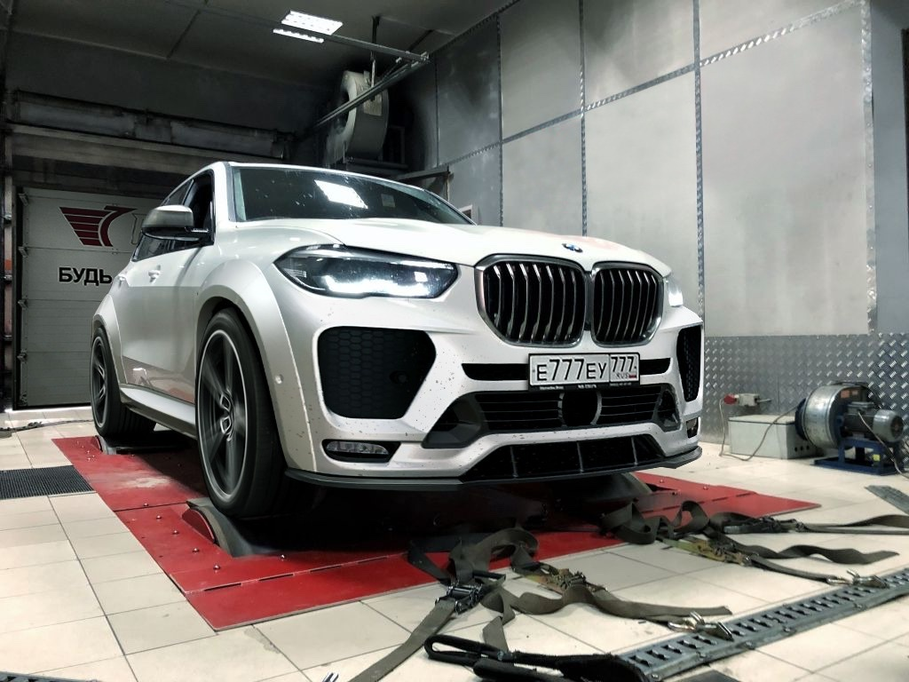Renegade body kit for BMW X5 G05 new style