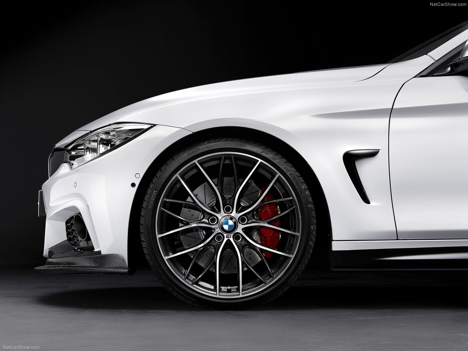 Hodoor Performance  carbon fiber air intakes Performance Style for BMW 4er