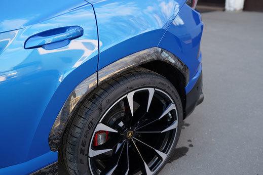 Hodoor Performance Carbon fiber arches Corsa for Lamborghini Urus new model