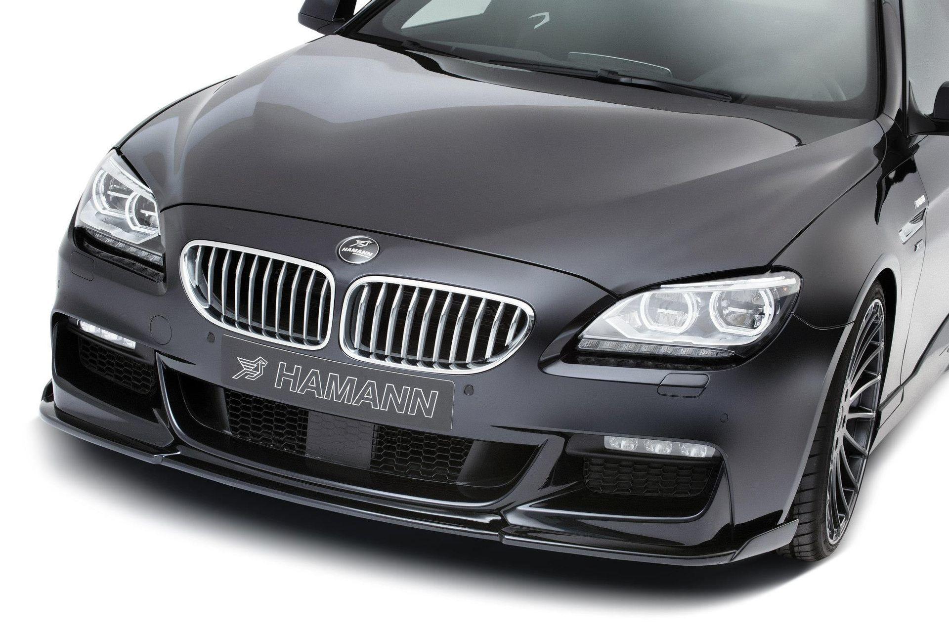 Hodoor Performance Carbon fiber front bumper spoiler Hamman Style for BMW 6er