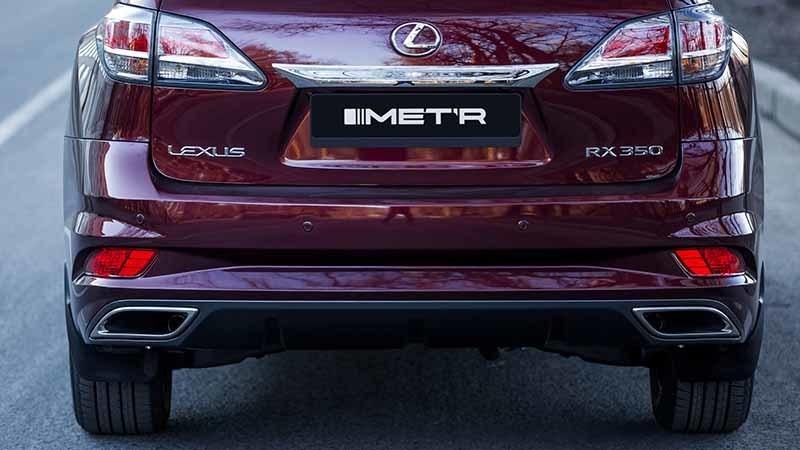 MTR Design Body Kit for Lexus RX