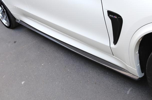 Hodoor Performance Carbon fiber thresholds for BMW X6 F16