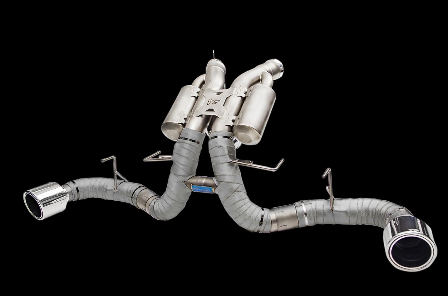 IPE exhaust system for McLaren 540C / 570S / 570GT / 570S Spider