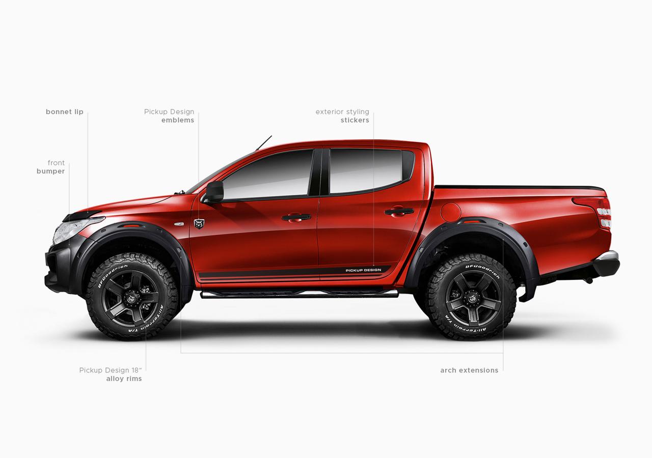 Carlex Design body kit for Fiat Fullback PRIME KIT new model