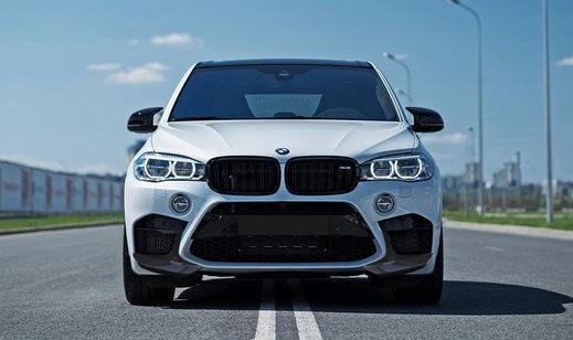 Hodoor Performance Carbon fiber spoiler front bumper for BMW X5M F85