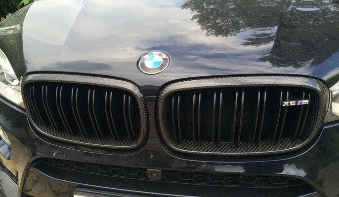 Hodoor Performance Carbon fiber Frame Grille for BMW X5 M F85