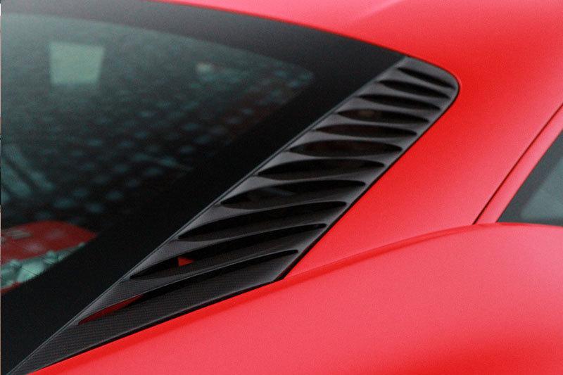 Hodoor Performance Carbon fiber ventilation grille in engine compartment for Ferrari 458 Italia