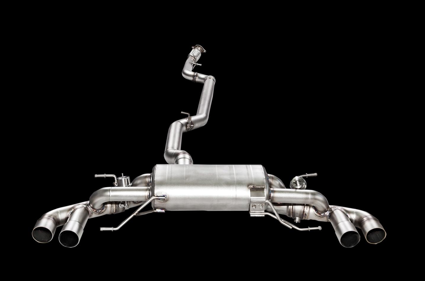 IPE exhaust system for Alfa Romeo Giulia