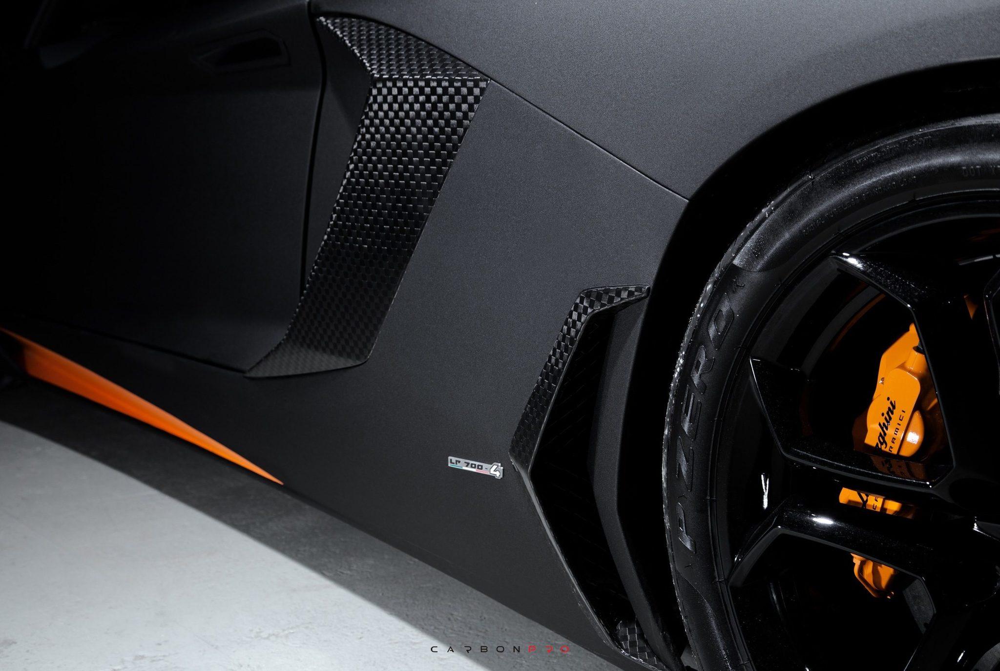 Hodoor Performance Carbon fiber Set for Lamborghini Aventador