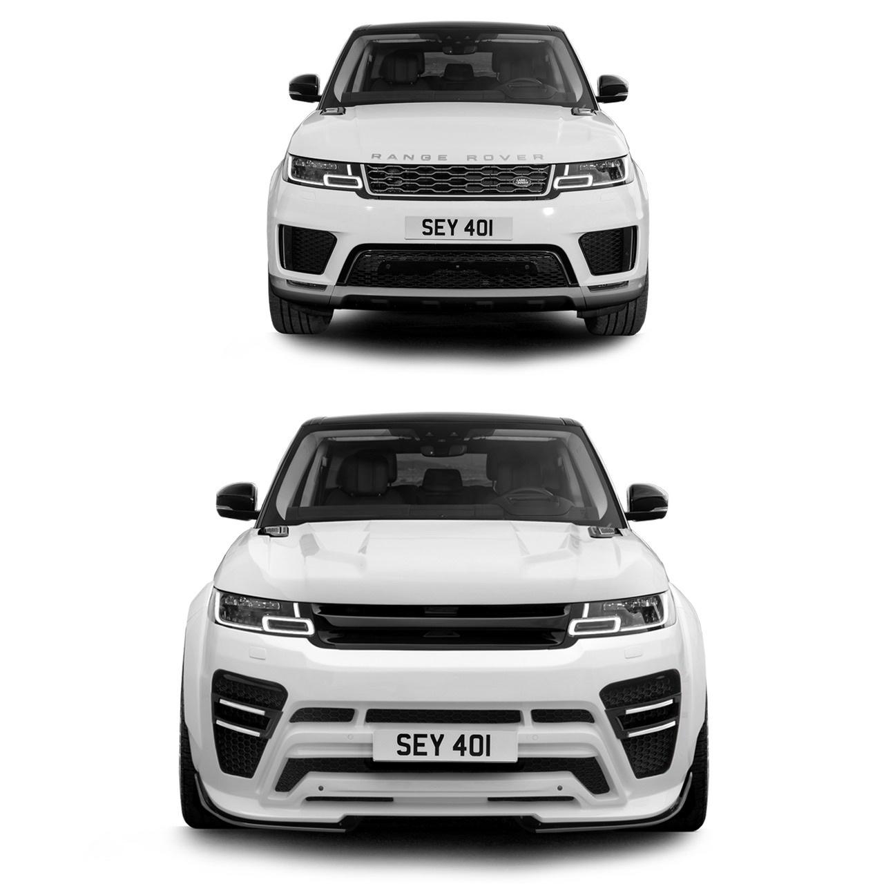 Renegade body kit for Range Rover Sport 2013/2018 carbon