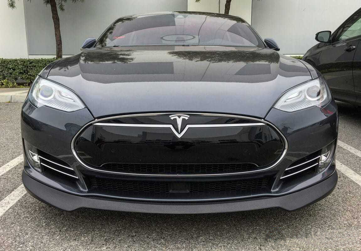 Unplugged Performance Front Spoiler and Diffuser System for Tesla Model S latest model