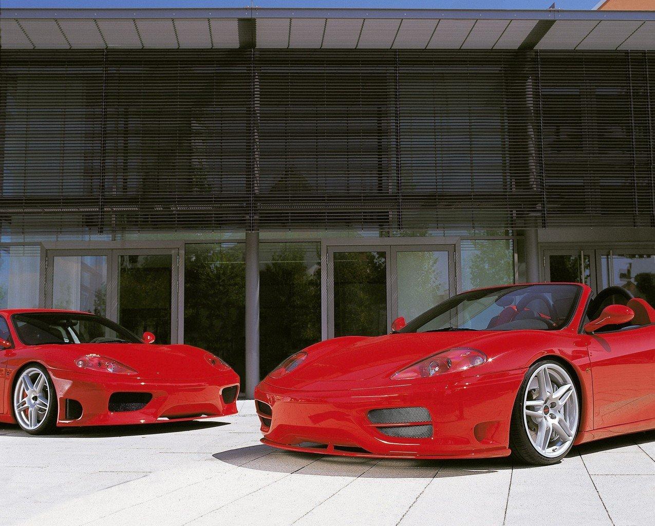 Novitec body kit for Ferrari 360 Spider new model