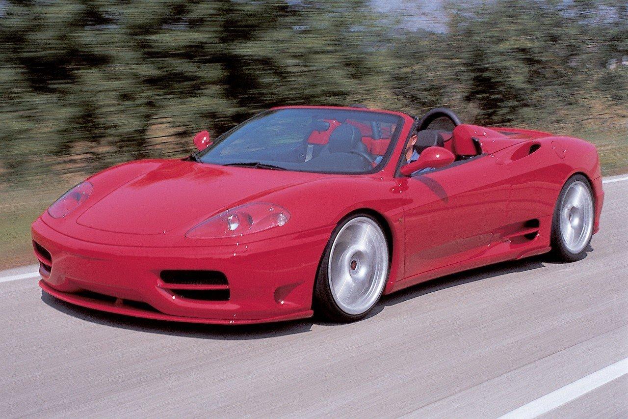 Novitec body kit for Ferrari 360 Spider