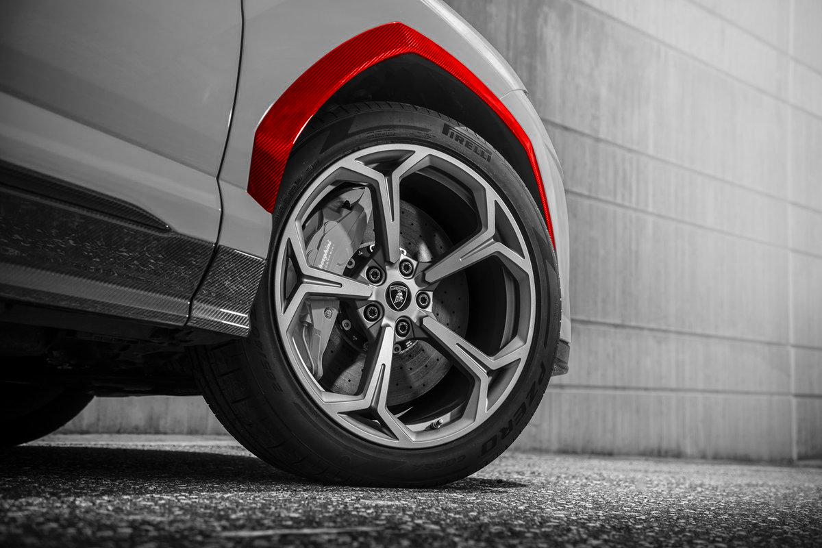 Hodoor Performance Carbon fiber arches for Lamborghini Urus