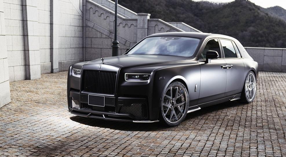 WALD Black Bison body kit for Rolls-Royce PHANTOM new model