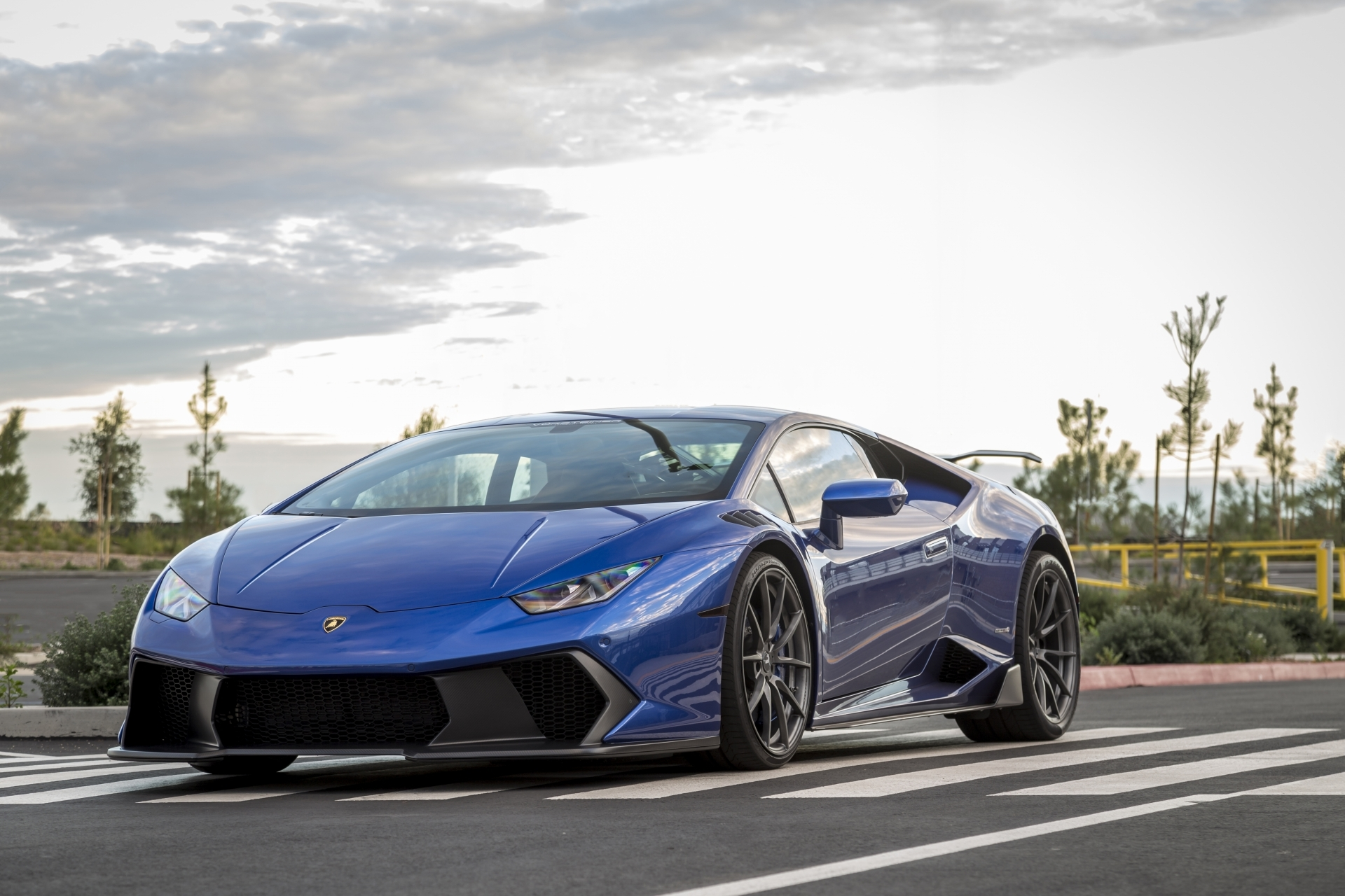 Vorsteiner Nero body kit for Lamborghini Huracan Novara