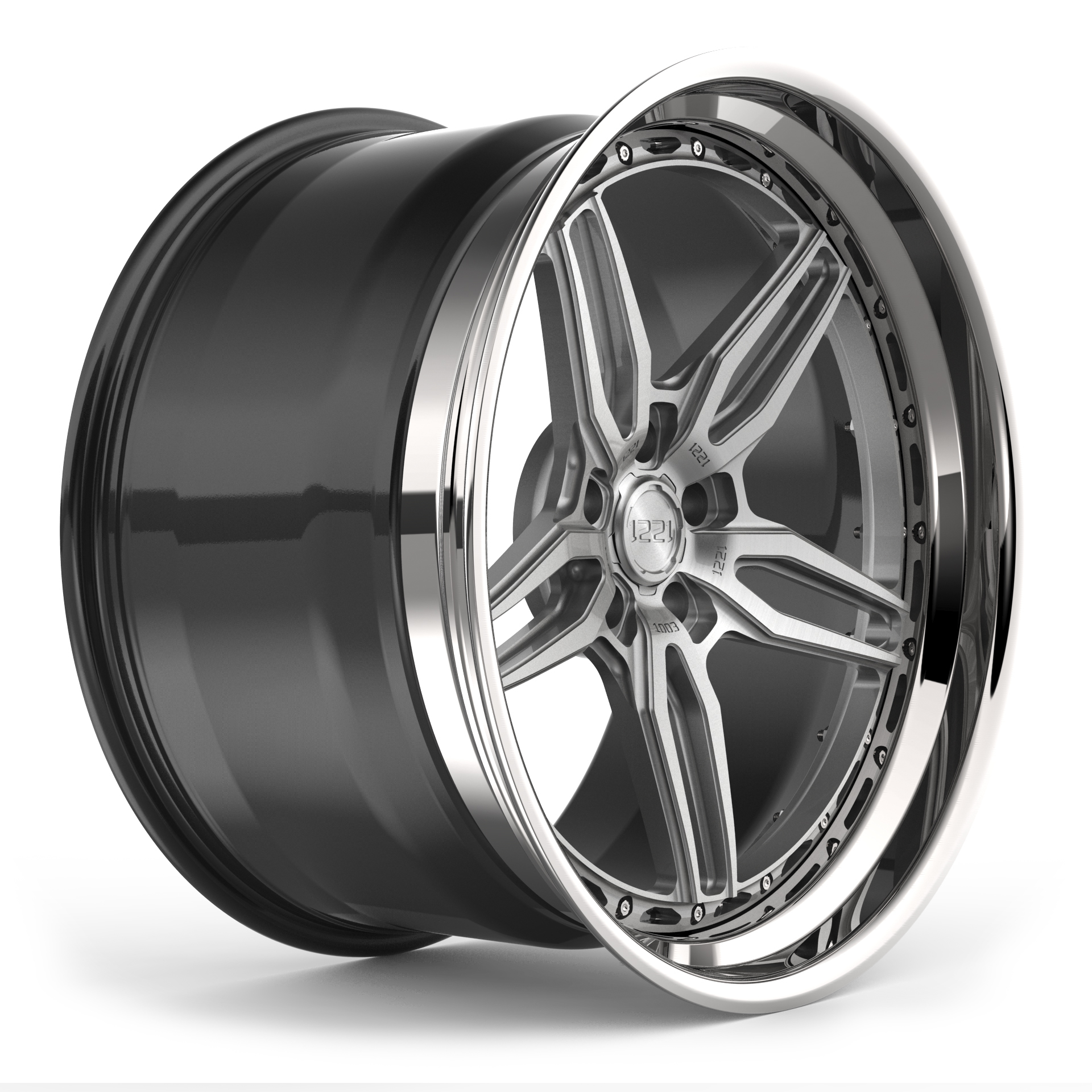 1221 Wheels 1003 AP3X APEX3.0 forged wheels