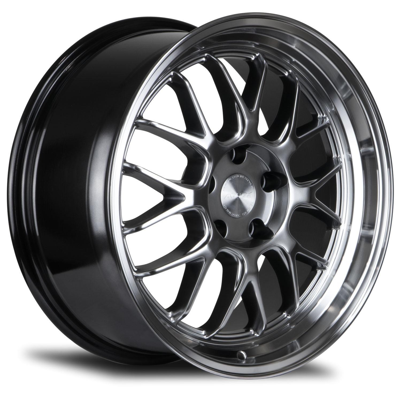 AVID1 AV.34 Hyper Black light alloy wheels