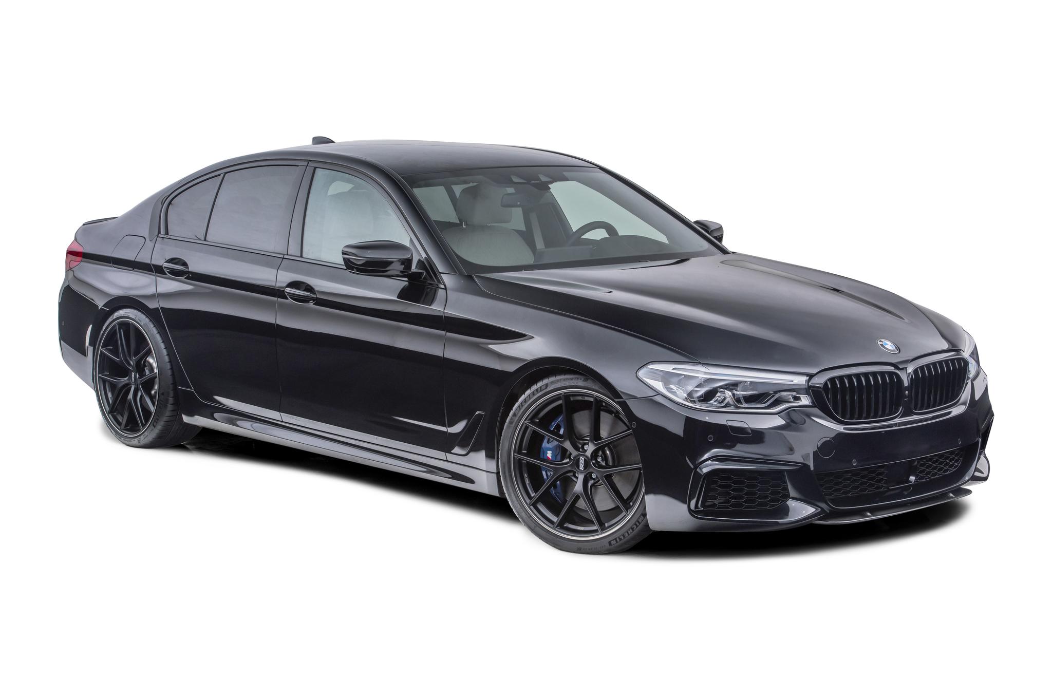 Sterckenn Carbon Fiber front splitter for BMW 5 G30 new model