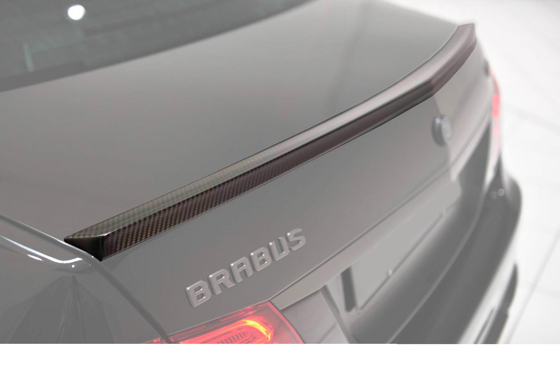 Hodoor Performance Carbon fiber trunk spoiler BRABUS Style for Mercedes E-class W212