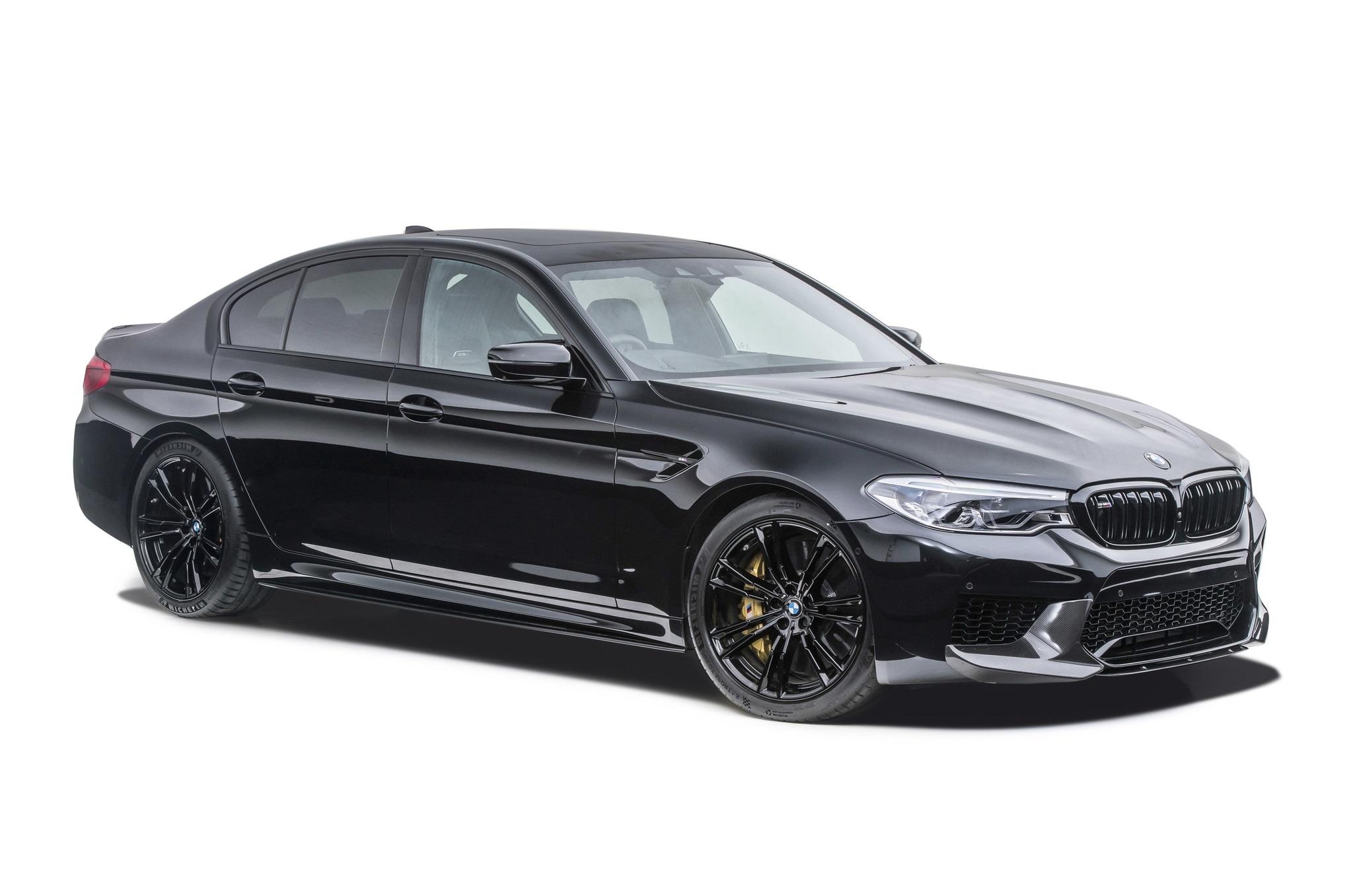 Sterckenn Carbon Fiber front splitter for BMW M5 F90 new model