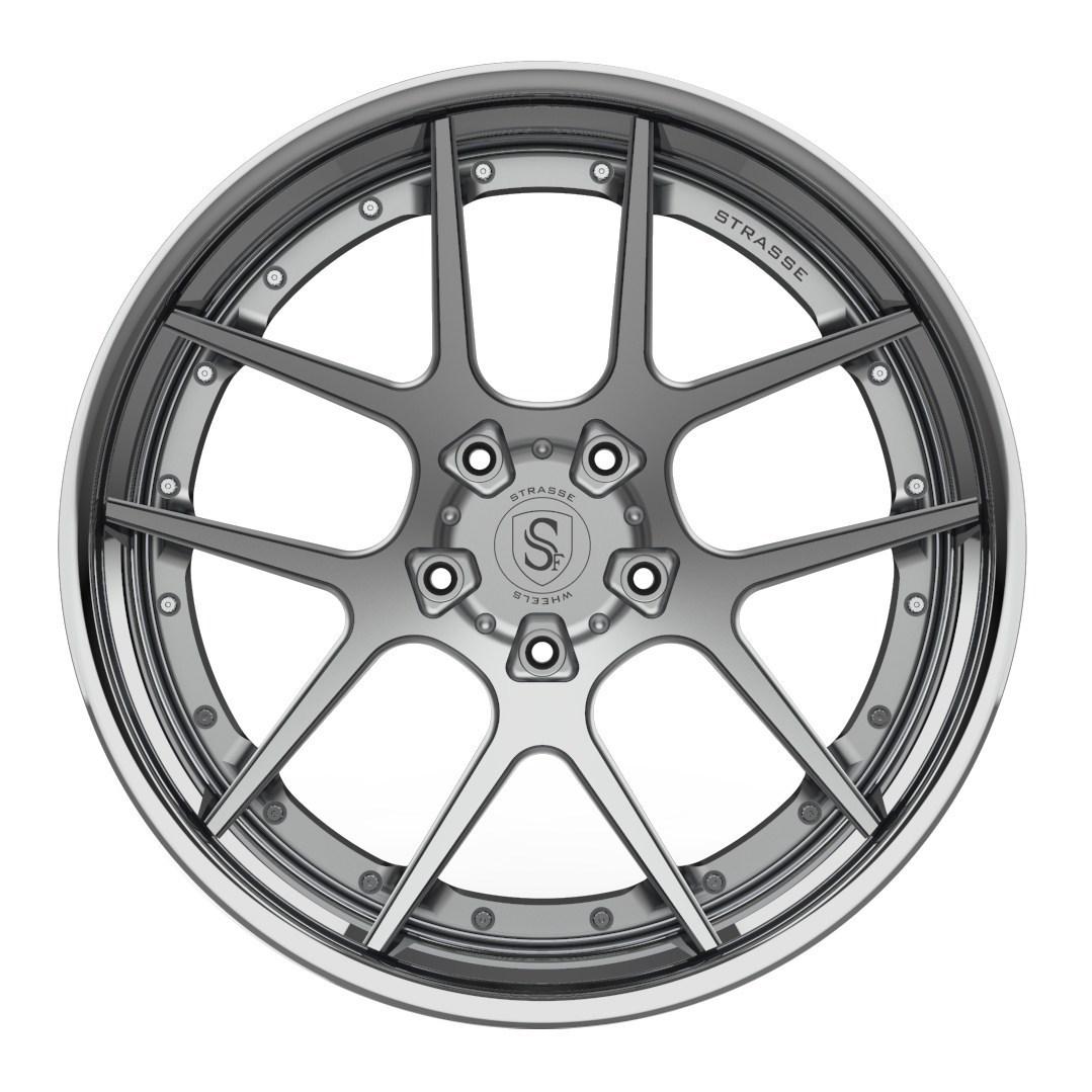Strasse SM5 DEEP CONCAVE FS 3 Piece Forged Wheels
