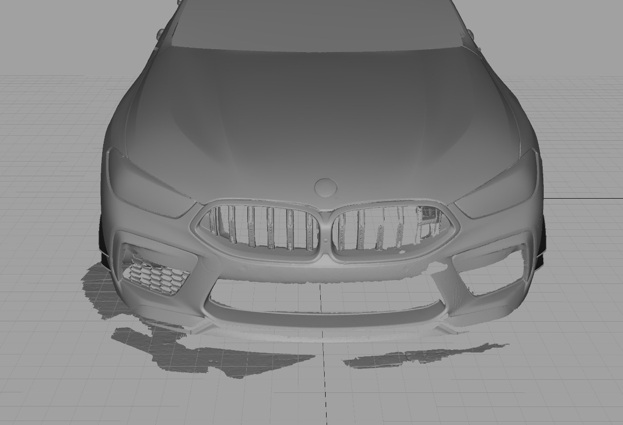 Hodoor Performance Carbon fiber Canards for BMW M8